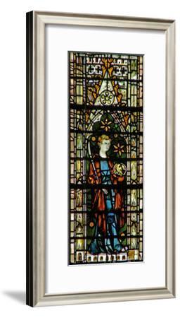 Window C6 Depicting St John--Framed Giclee Print
