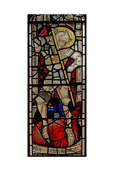 Window EW Depicting St George--Giclee Print