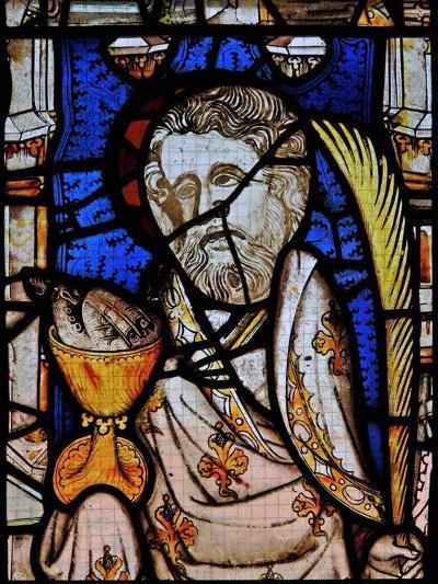 Window Ew Depicting St John--Giclee Print