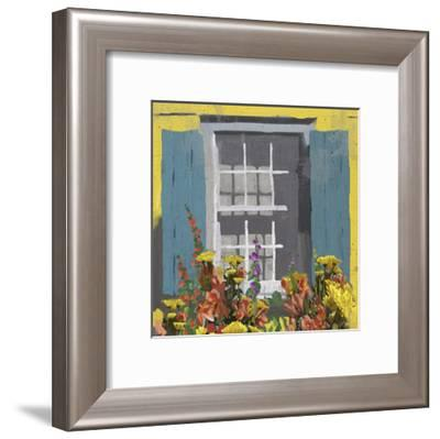 Window Floral I-Rick Novak-Framed Art Print