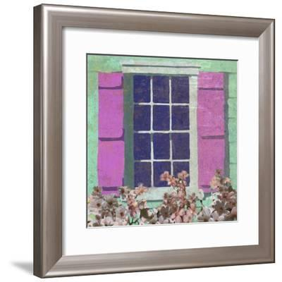 Window Floral II-Rick Novak-Framed Art Print