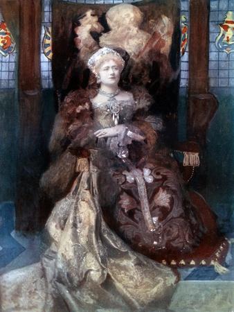 Ellen Terry in Henry VIII, C1902