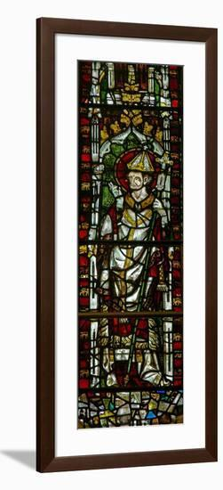 Window N2 Depicting a Pope-Saint--Framed Giclee Print