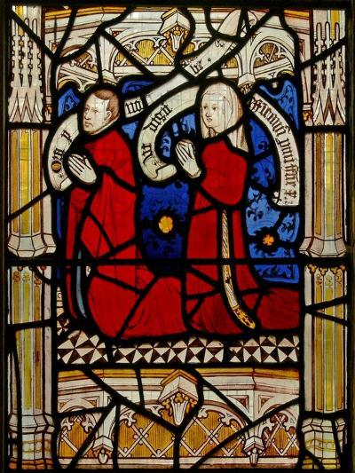 Window N4 Depicting Donors--Giclee Print