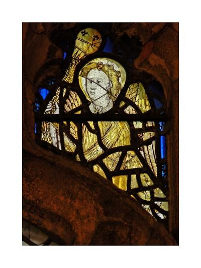 Window S3 Depicting an Angel with a Censer--Giclee Print