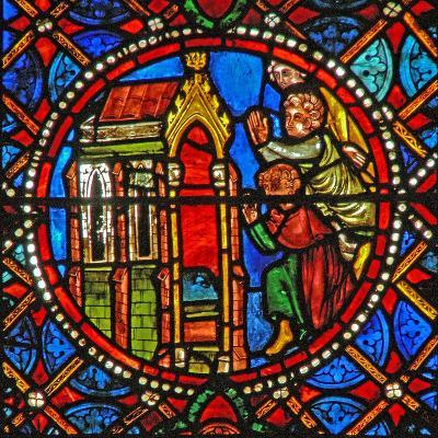 Window S4 Depicting St Agatha's Tomb with Pilgrims from Far and Wide--Giclee Print