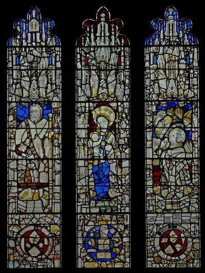 Window S6 Depicting St James, the Virgin and Child, Te Mass of St Gregory--Giclee Print