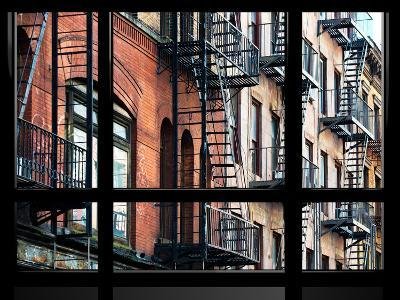 Window View, Special Series, Building Architecture, Manhattan, New York, United States-Philippe Hugonnard-Photographic Print
