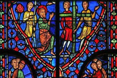 Window W11 Depicting St Andrew before His Cross--Giclee Print