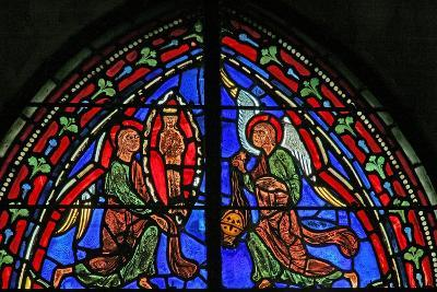 Window W11 Depicting St Andrew's Soul Ascends to Heaven--Giclee Print