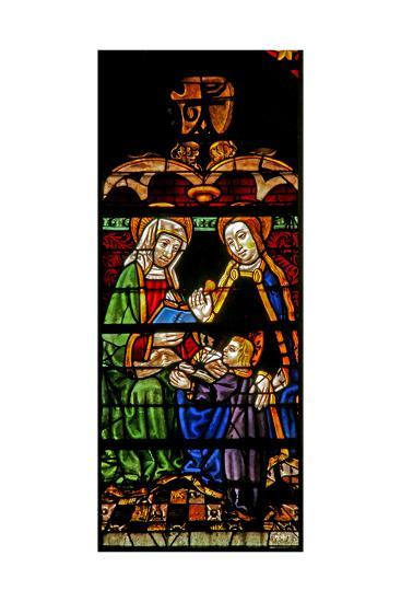 Window W132 Depicting Mary Salome?--Giclee Print