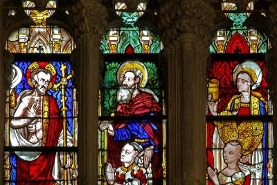 Window W137 Depicting St Mary Magdalene, Christ and St Anthony--Giclee Print