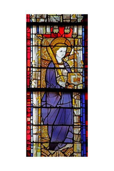 Window W14 Depicting a Saint with a Book--Giclee Print