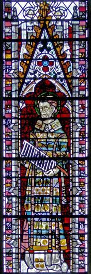 Window W2 Depicting St Lawrence--Giclee Print