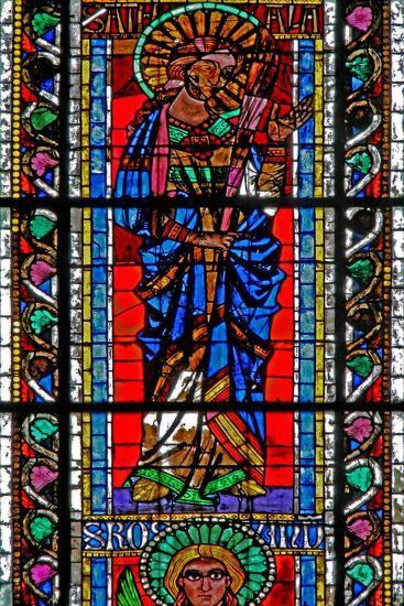Window W202 Depicting St Attale--Giclee Print