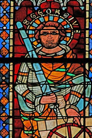 Window W203 Depicting St George--Giclee Print