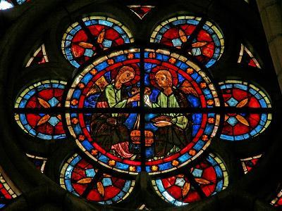 Window W206 Depicting Angels with Censers--Giclee Print