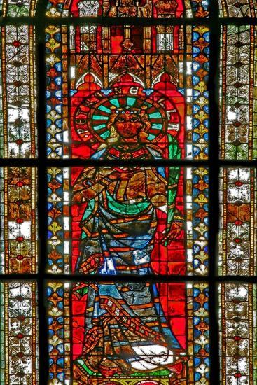 Window W206 Depicting St Petronella--Giclee Print