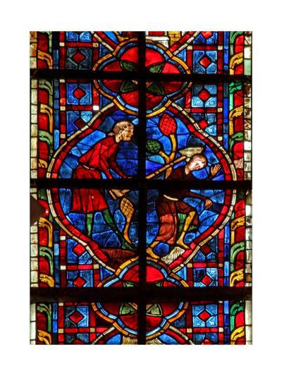 Window W207 Depicting Cain Kills Abel--Giclee Print