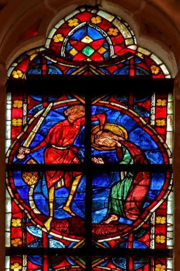 Window W210 Depicting the Martyrdom of St James--Giclee Print