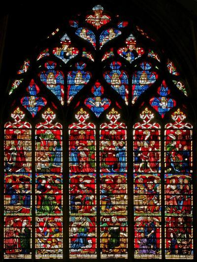Window W236 Depicting Scenes from the Story of Daniel--Giclee Print