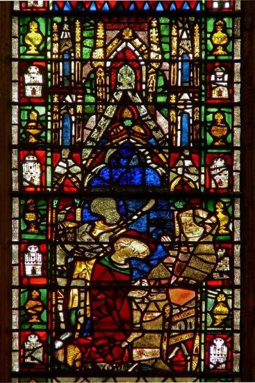 Window W26 Depicting the Death of St Nicholas--Giclee Print
