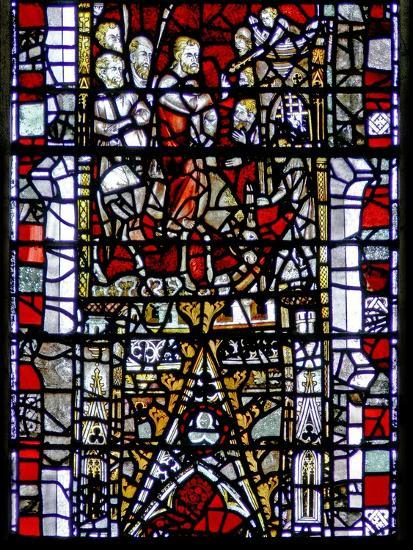 Window W3 Depicting the Entry into Jerusalem--Giclee Print