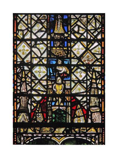 Window W31 Depicting a Canopy with a Figure--Giclee Print