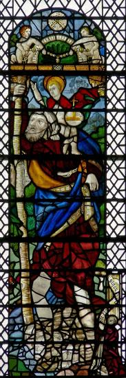 Window W36 Depicting St Christopher--Giclee Print