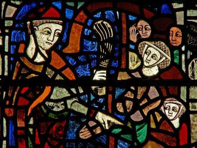 Window W38 Depicting the Administration of Penance--Giclee Print