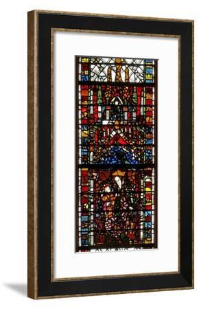Window W39 Depicting the Virgin and Child--Framed Giclee Print