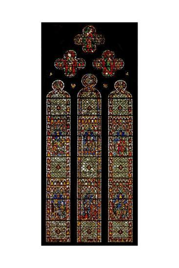 Window W41 Depicting the Bell Founders' Window'--Giclee Print