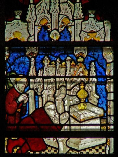 Window W5 Depicting a Scene from the Life of St William--Giclee Print