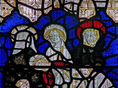 Window Ww Depicting the Entombment--Giclee Print
