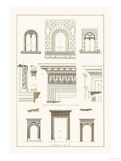 Windows and Doorways of the Renaissance-J^ Buhlmann-Art Print