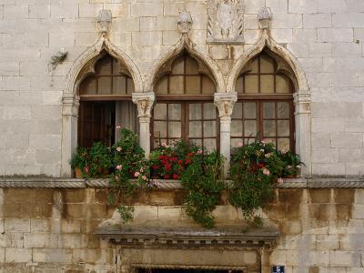 Windows in Porec, Croatia--Photographic Print