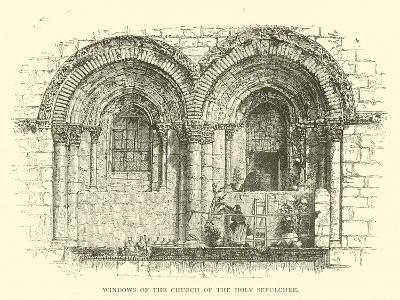 Windows of the Church of the Holy Sepulchre--Giclee Print
