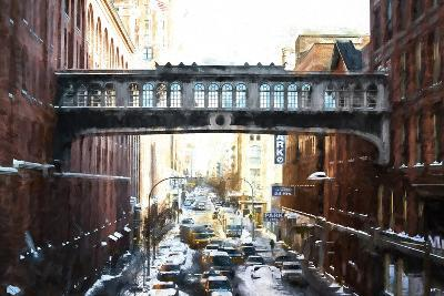 Windows on Bridge-Philippe Hugonnard-Giclee Print