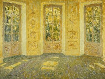 Windows on the Parc; Fenetres Sur Le Parc, 1938-Henri Eugene Augustin Le Sidaner-Giclee Print