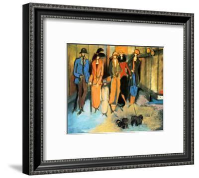 Windows-Marie Versailles-Framed Art Print