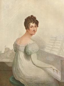 Windsor Castle, 1821. Georgina Quentin Mistress of King George IV (1762-1830), 1911