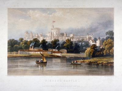 Windsor Castle, Berkshire, 1851-Thomas Picken-Giclee Print