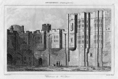 Windsor Castle, Berkshire, 19th Century- Lemaitre-Giclee Print