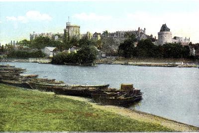 Windsor Castle, Berkshire, 20th Century--Giclee Print