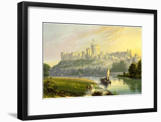 Windsor Castle, Berkshire, the Royal Residence, C1880-AF Lydon-Framed Giclee Print