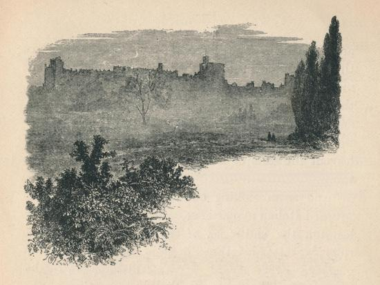 'Windsor Castle from the Home Park', 1895-Unknown-Giclee Print
