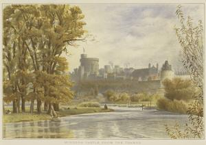 Windsor Castle from the Thames