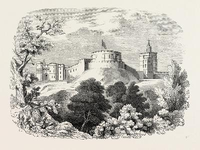 Windsor Castle in the Time of Edward III--Giclee Print