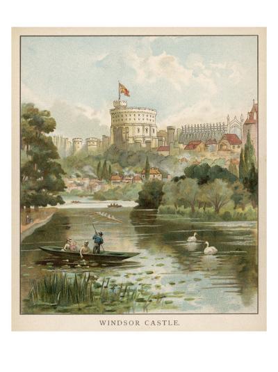 Windsor Castle, Seen across the River--Giclee Print