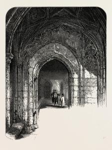Windsor Castle: the Cloisters, UK